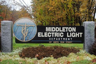 middleton electric light department roadside signage
